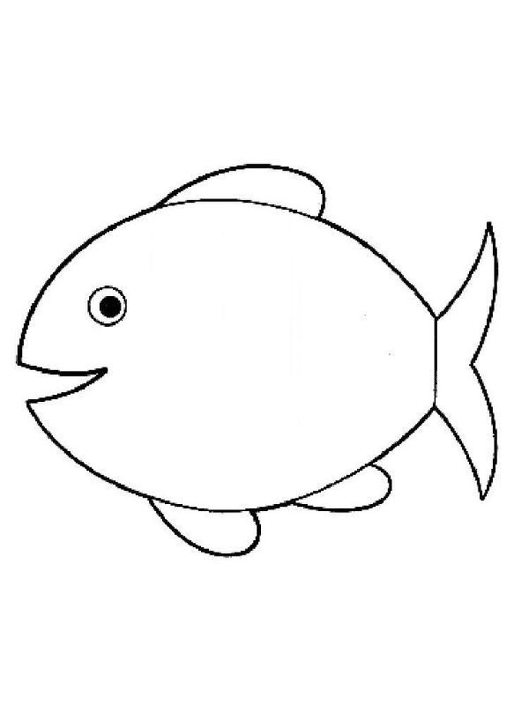 Fish Coloring Pages For Preschoolers Below Is A Collection Of Fish Coloring Page Which You Can Downloa Fish Coloring Page Animal Coloring Pages Coloring Pages
