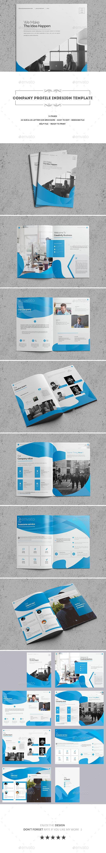 Company Profile InDesign Template | Ideas de negocios, Diseño ...