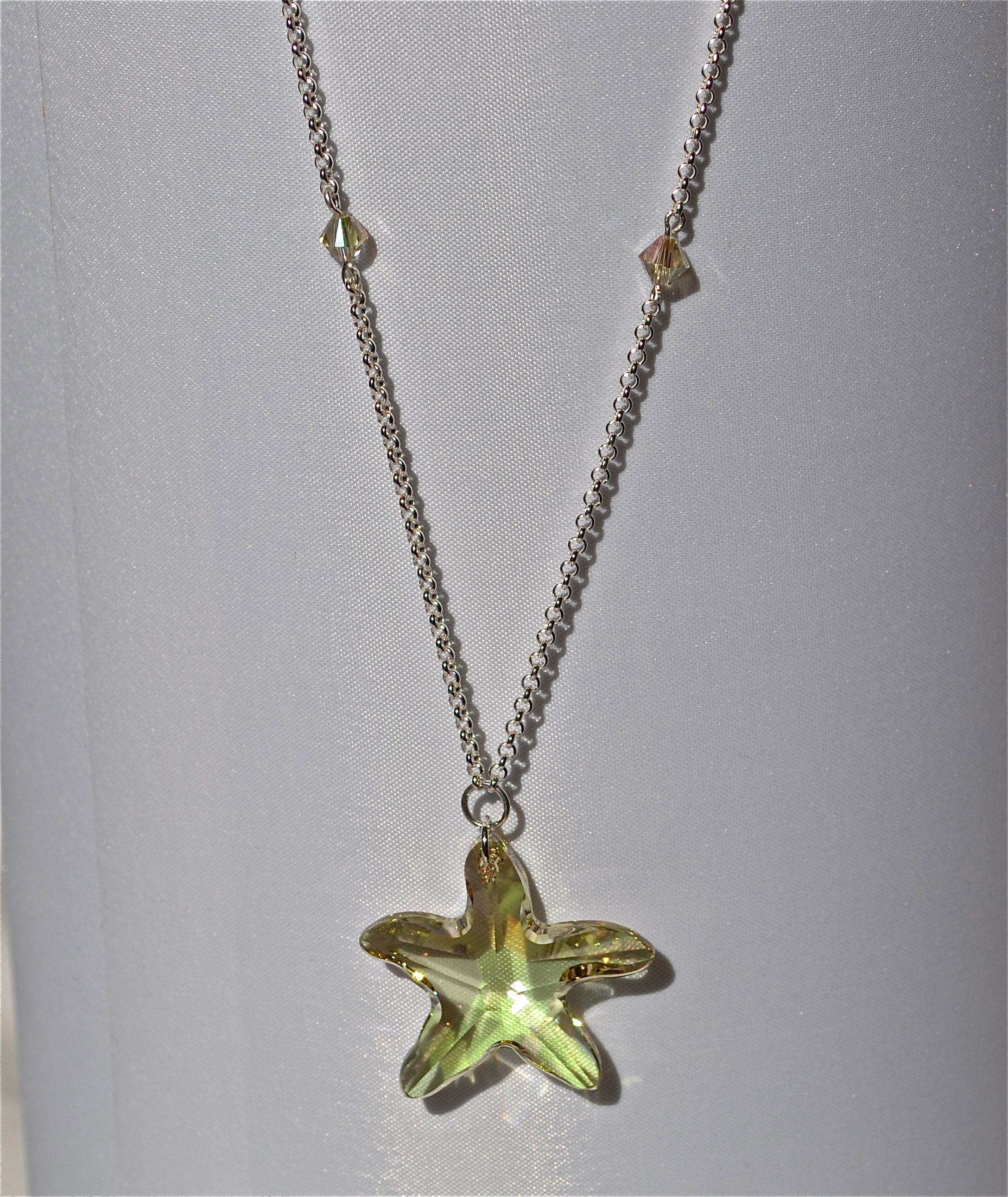 Loving this large swarovski starfish pendant jewelry at coco lime loving this large swarovski starfish pendant aloadofball Gallery