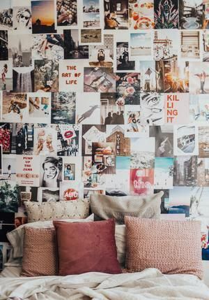 Collage Kit – By Tezza #roomdecorideas #collagewalls