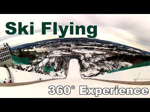 Vikersund Ski Flying 360 Experience Ski Flying Skiing Virtual Reality Videos