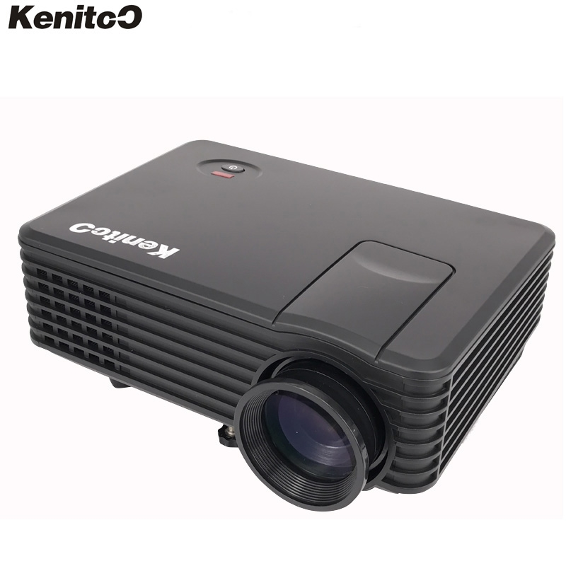 136.00$  Watch here - http://ali9al.worldwells.pw/go.php?t=32667703456 - Smart Build-in Wifi Android 4.4 LED Mini Projector 180ANSI Lumens Home Smart Projector Kenitoo KT-80L Model  Free Shipping 136.00$