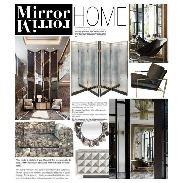 """Mirror Home"" by reddotdaily on Polyvore"