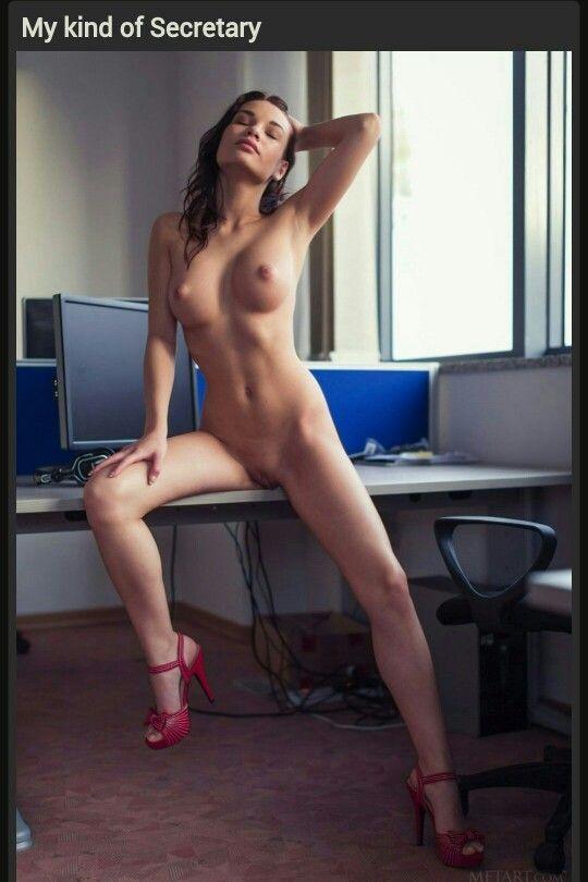 Redhead big tits striptease