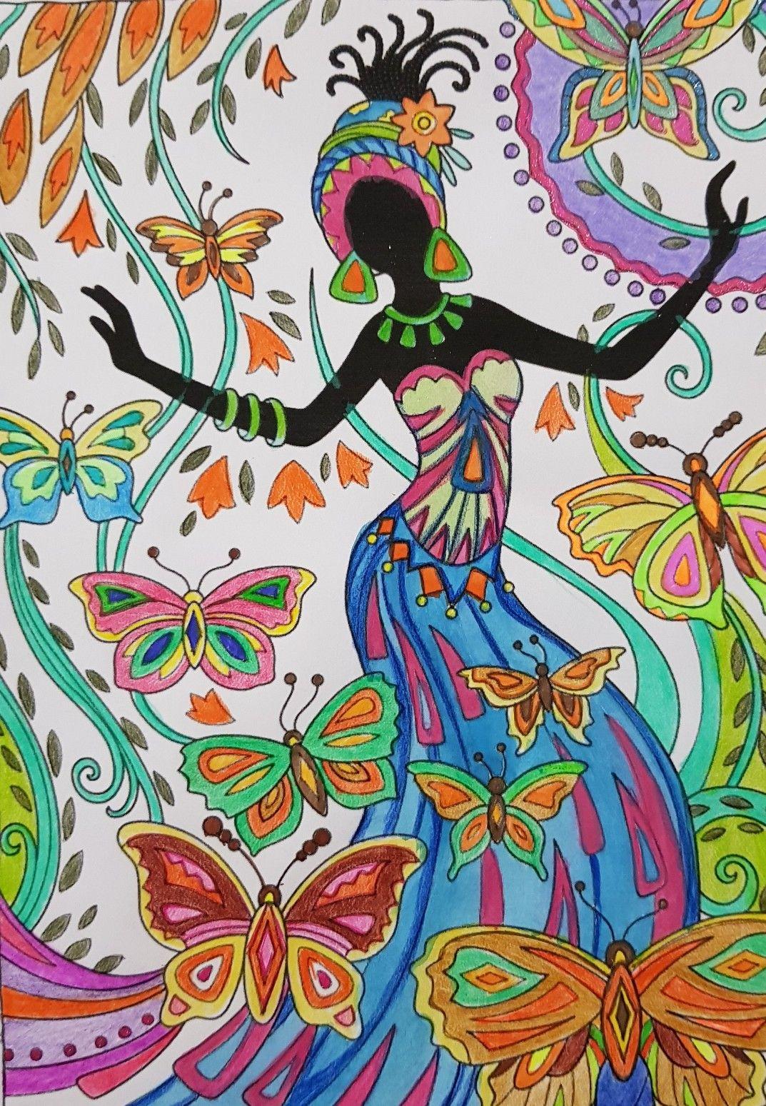 африканские картинки как рисовать