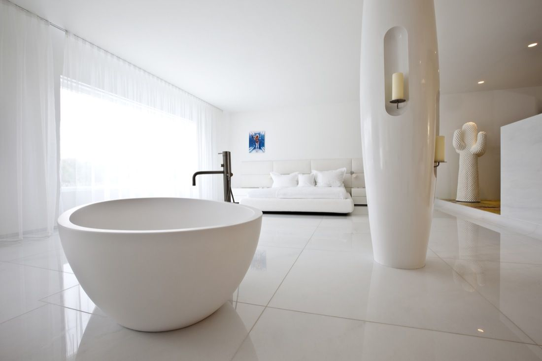 all white errthang | Dream Bathrooms | Pinterest | Marcel, Dream ...