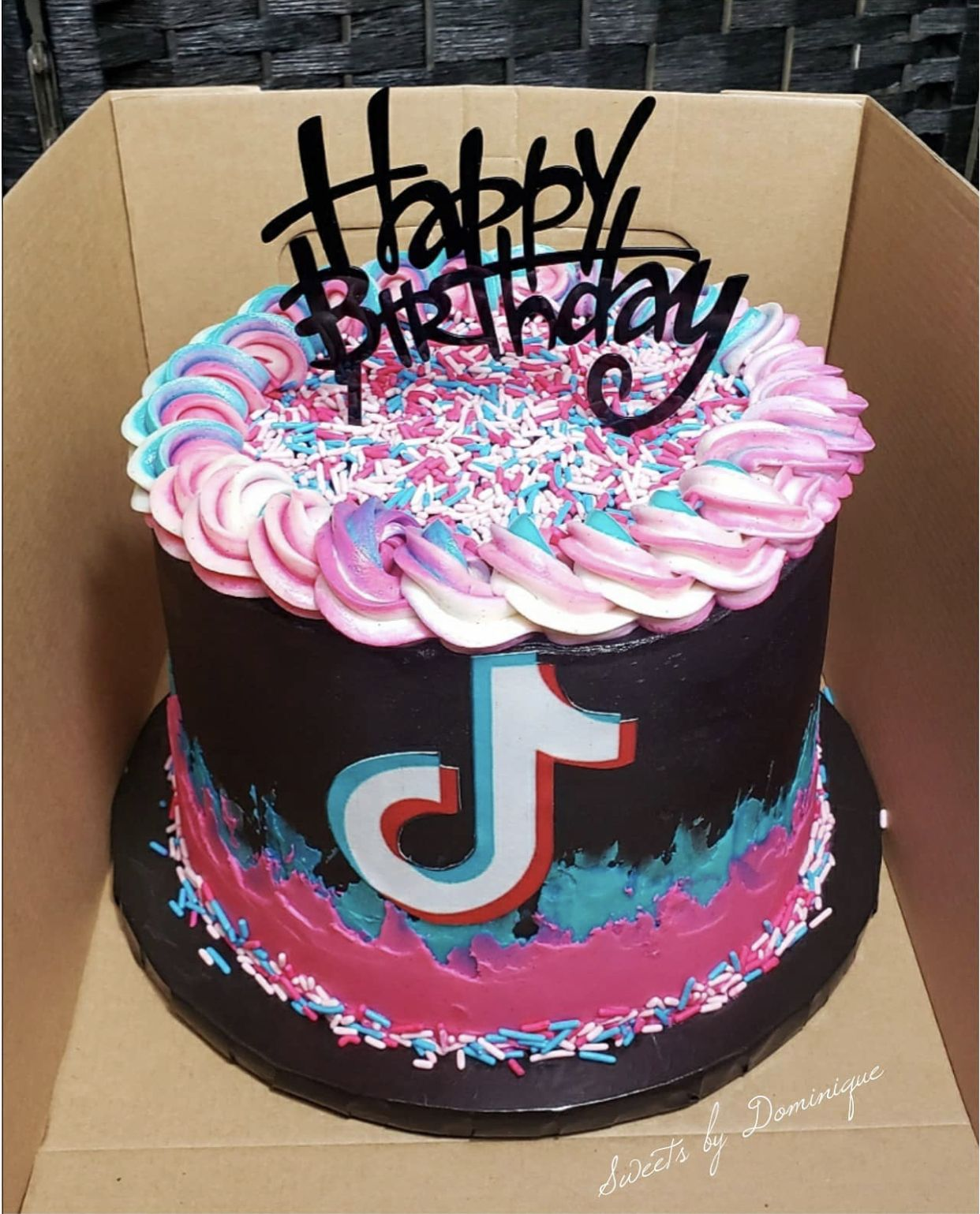 Torta De Tiktok Birthday Cakes For Teens Special Birthday Cakes Cool Birthday Cakes