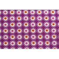 Tissu Saki coloris fuchsia, l. 1.6M, coton
