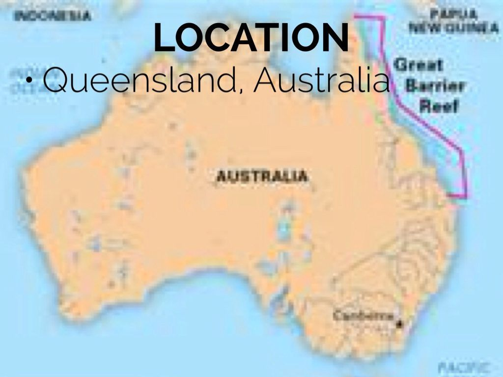 Awesome Map Australia Great Barrier Reef 8 Great Barrier