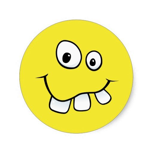 Image result for goofy smiley face