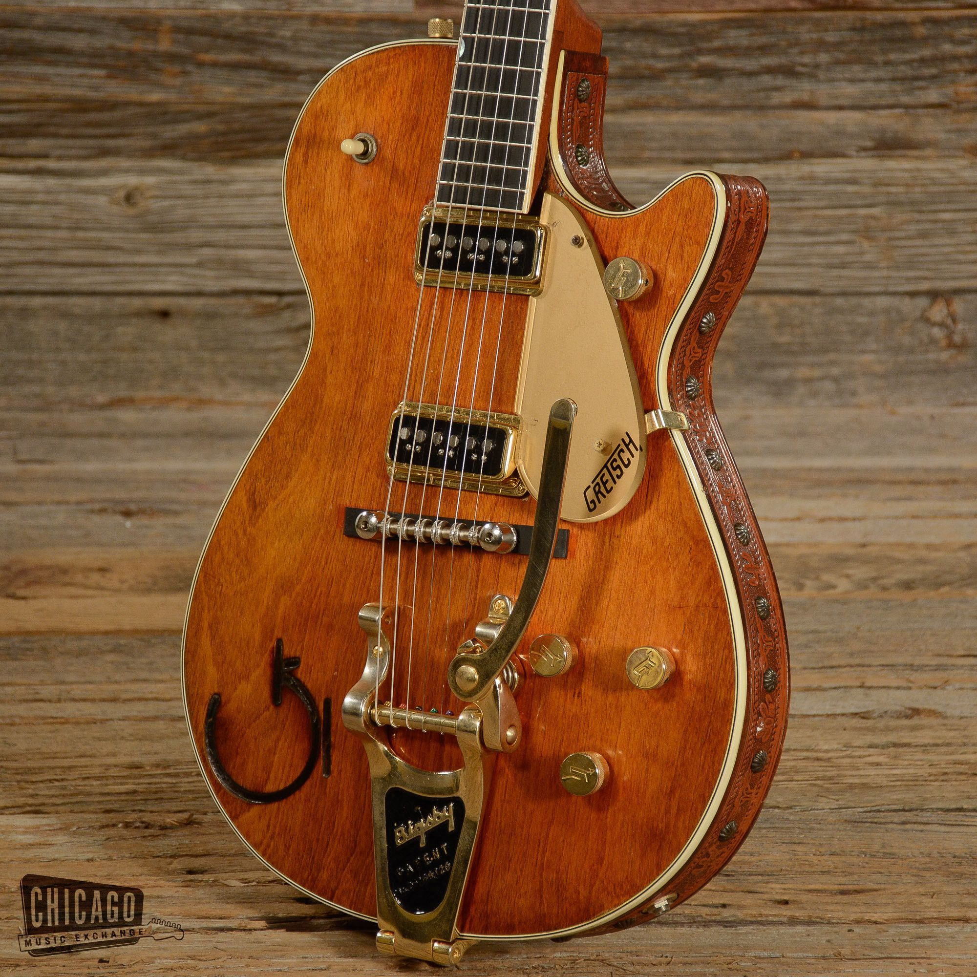 gretsch 6121 chet atkins natural 1955 telly and other stories
