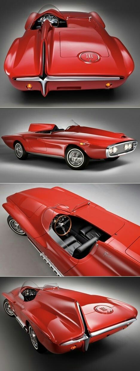 — doyoulikevintage:   1960 Plymouth XNR Prototype