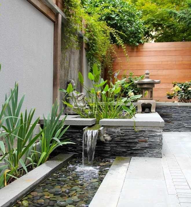 Jardin japones jard n en 2019 jardines decoraciones for Decoracion jardin japones