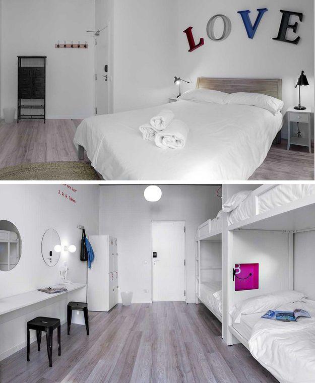 Diseo hostal  Boutique Hostel  DIRECCIONES Madrid