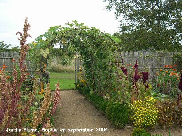 Le potager du jadin plume tonnelle de jardin pinterest for Jardin potager en anglais