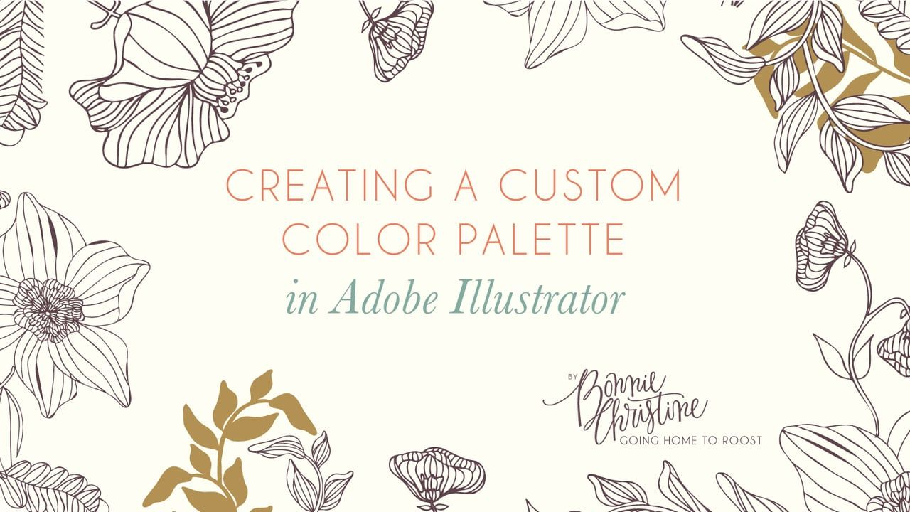 Learn how to build a custom color palette using a photograph in Adobe Illustrator.