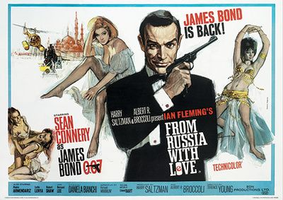 James Bond (From Russia With Love 1) Movie Poster Print Masterprint at AllPosters.com