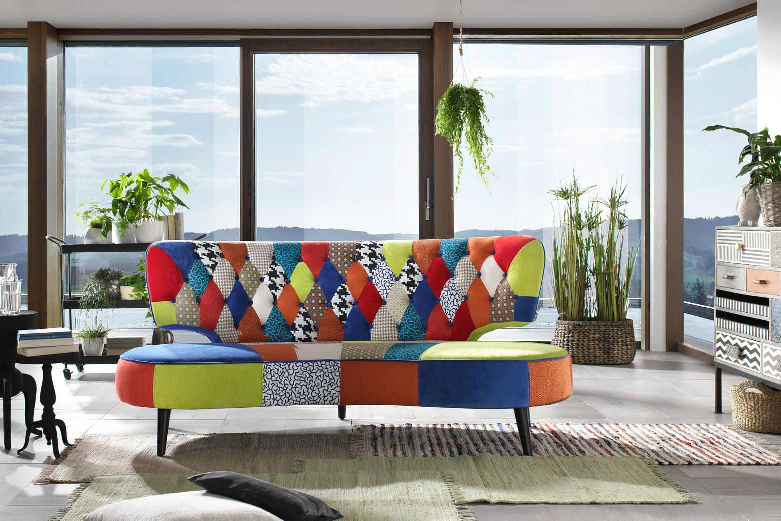 Sofa Bunt Sofa In Holz Textil Multicolor In 2019 Sofas Couches Sofa