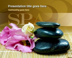 Free Wellness Spa Powerpoint Template Describes How To