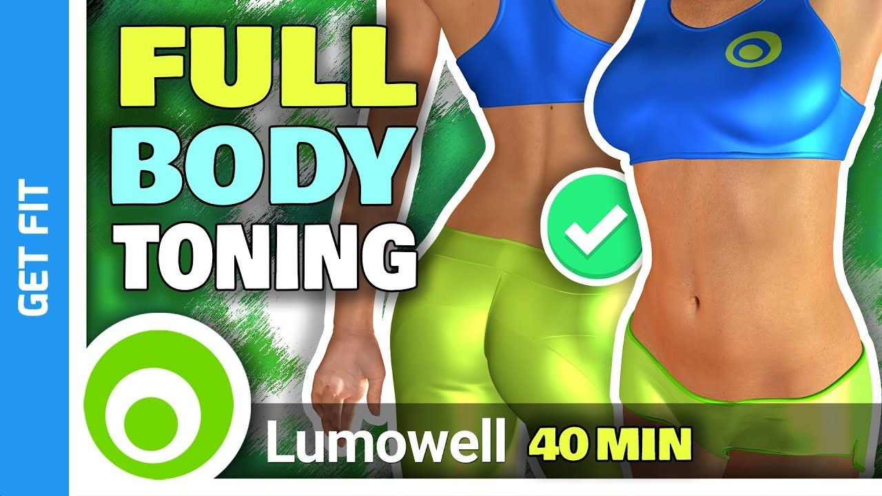 40 Minute Full Body Workout - Burn 500 Calories At Home ...