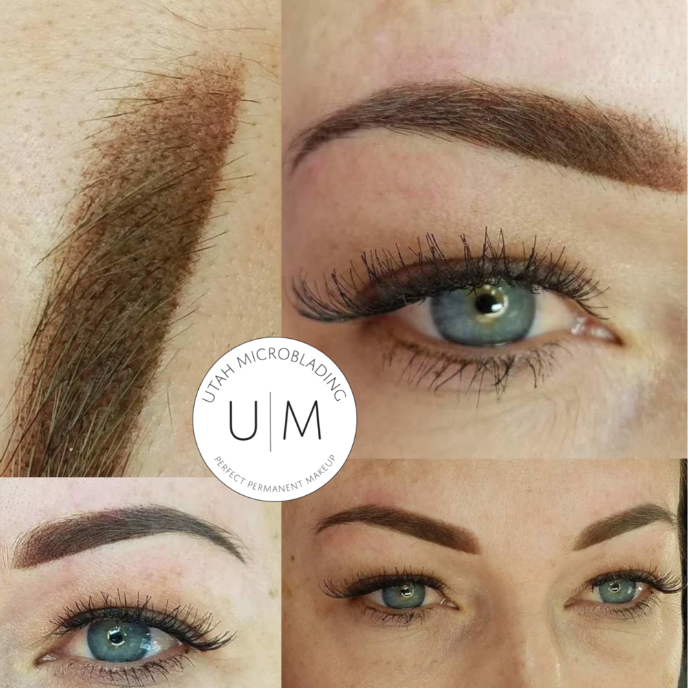 Utah MicrobladingMagic Shading Ombre Brows Eyebrow