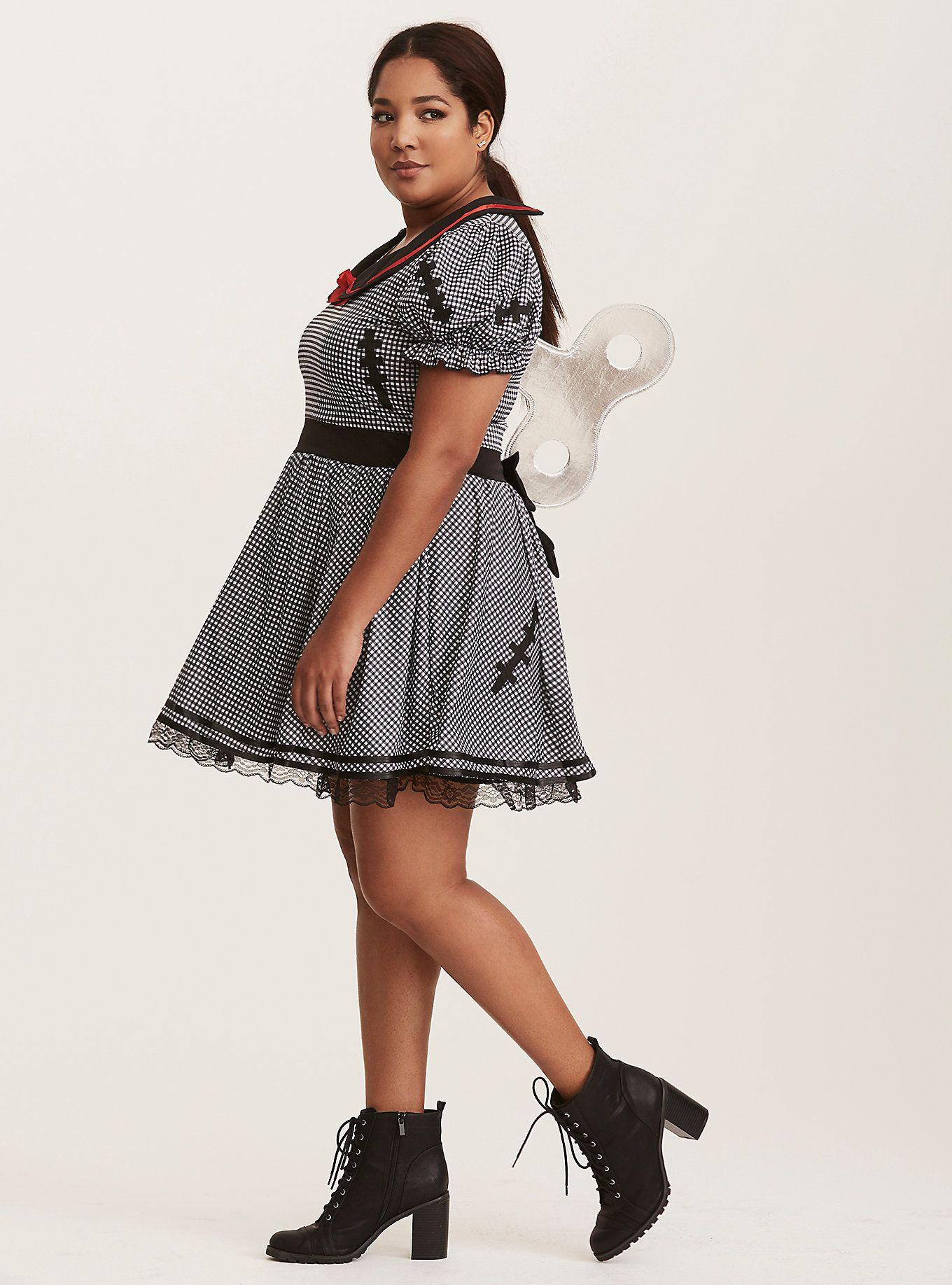 leg avenue halloween dolly gingham costume | torrid (plus size