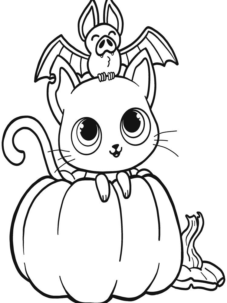 Cat Coloring Pages Pdf Below Is A Collection Of Cute Cat Coloring Page Whic Halloween Coloring Pages Printable Halloween Coloring Pages Pumpkin Coloring Pages