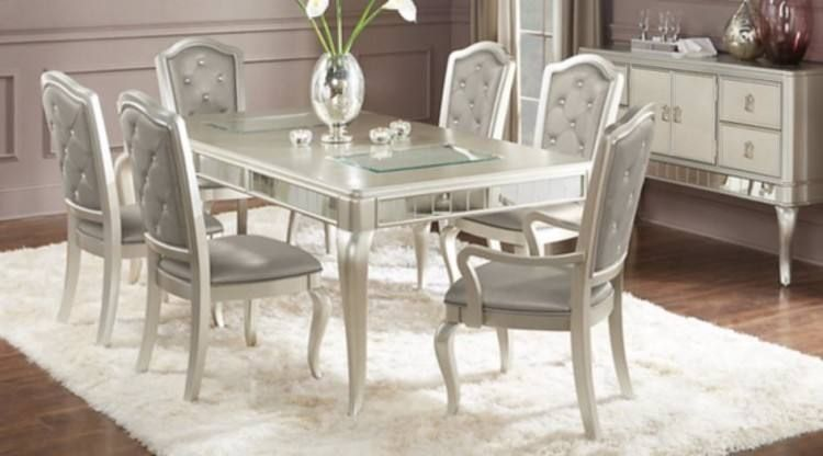 Rooms To Go Sofia Vergara Dining Dining Room Furniture Sets Rectangle Dining Room Set Dining Room Design