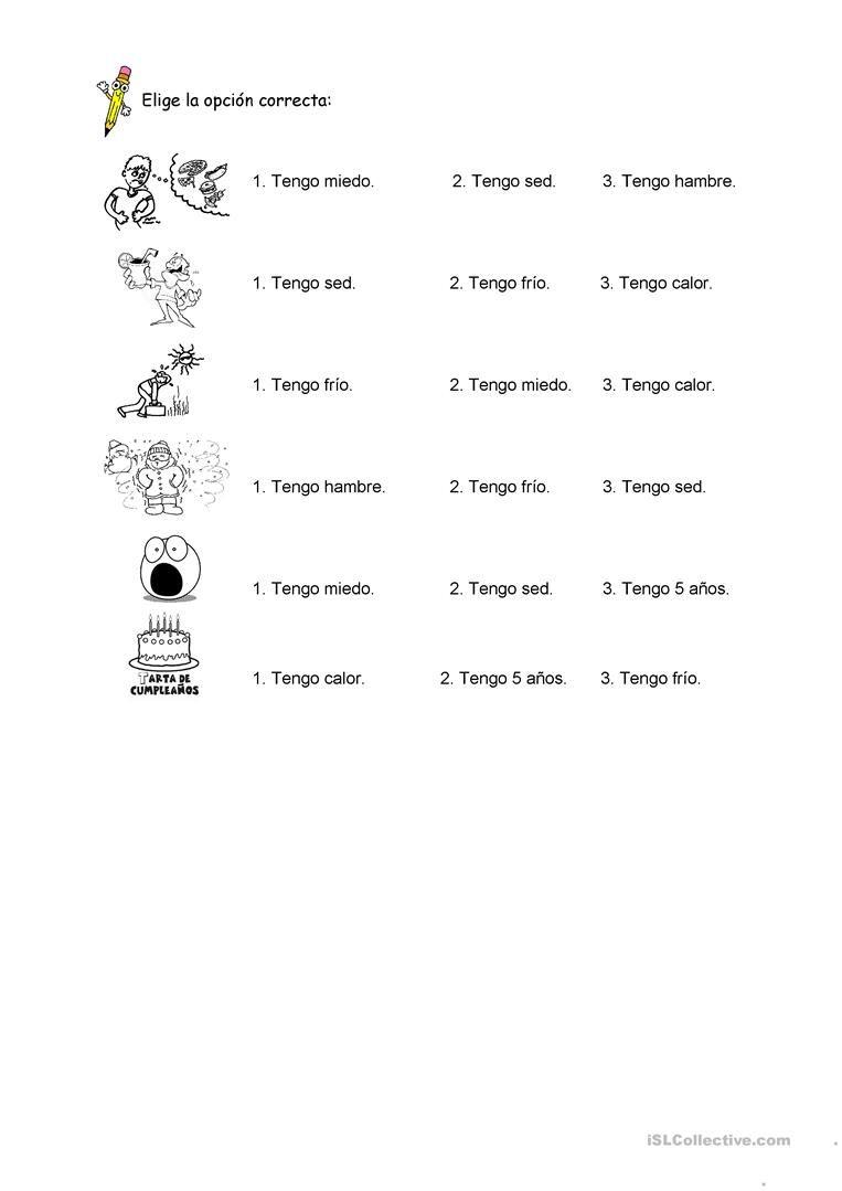 worksheet Tener Que Worksheet verbo tener pinterest teaching materials english tener