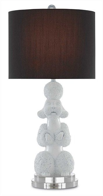 Ms Poodle Table Lamp from Currey Light fixtures Pinterest