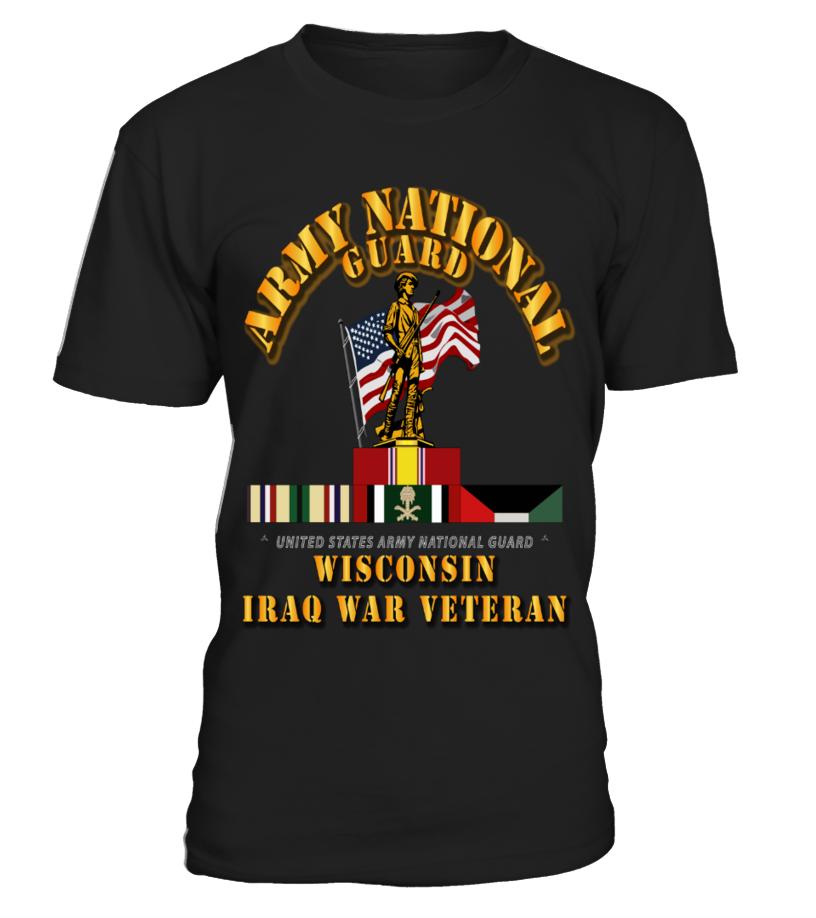 WIARNG Iraq War Veteran gift idea shirt image funny