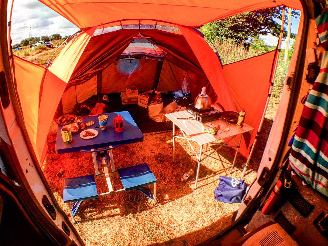 Camping At Dot S Field New Forest Kat Got Your Tongue Campervan Awnings New Forest Campervan