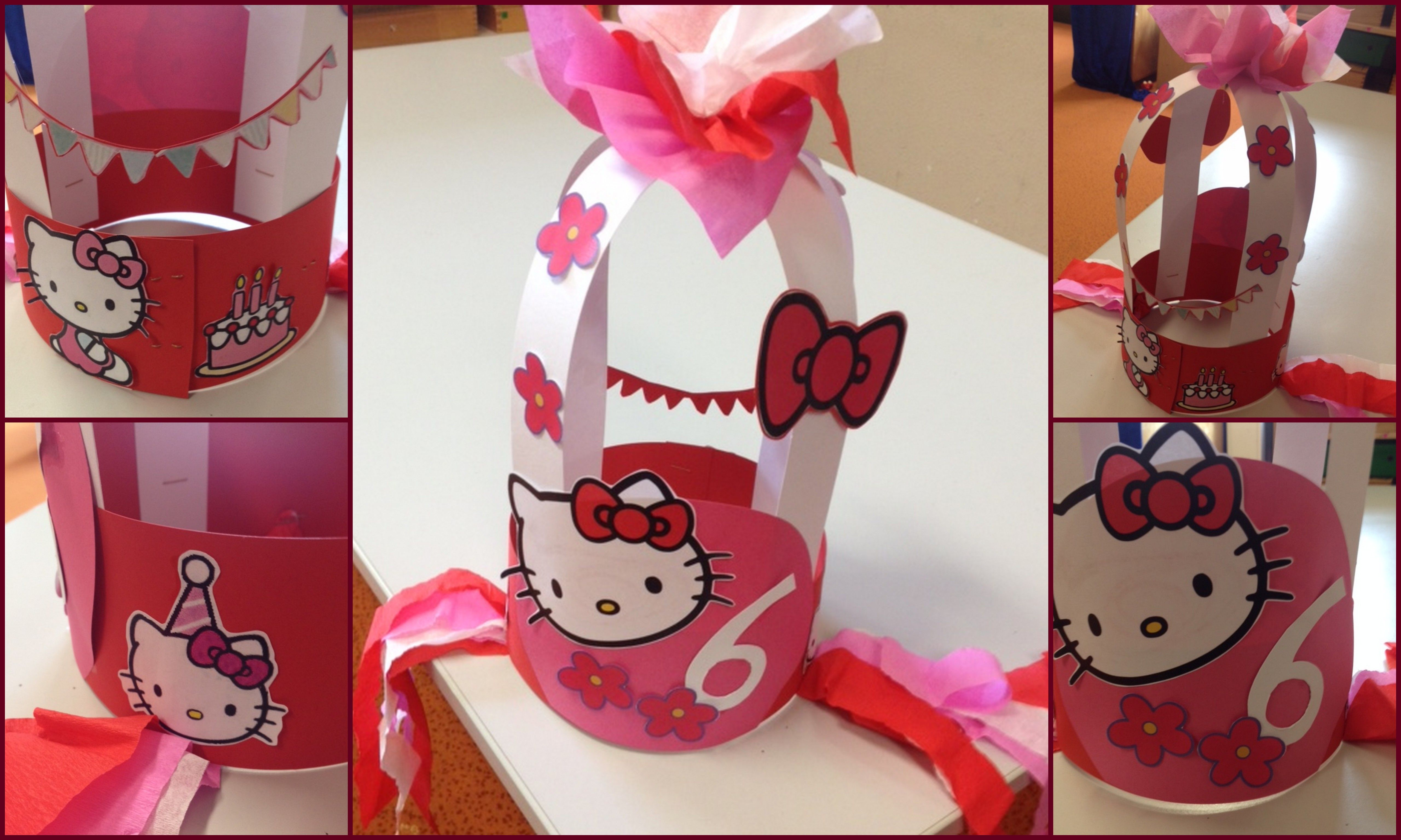 Hello Kitty Verjaardagsmuts Verjaardagsmutsen