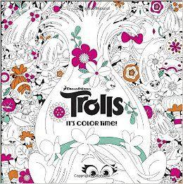 DreamWorks Trolls Adult Coloring Book Random House