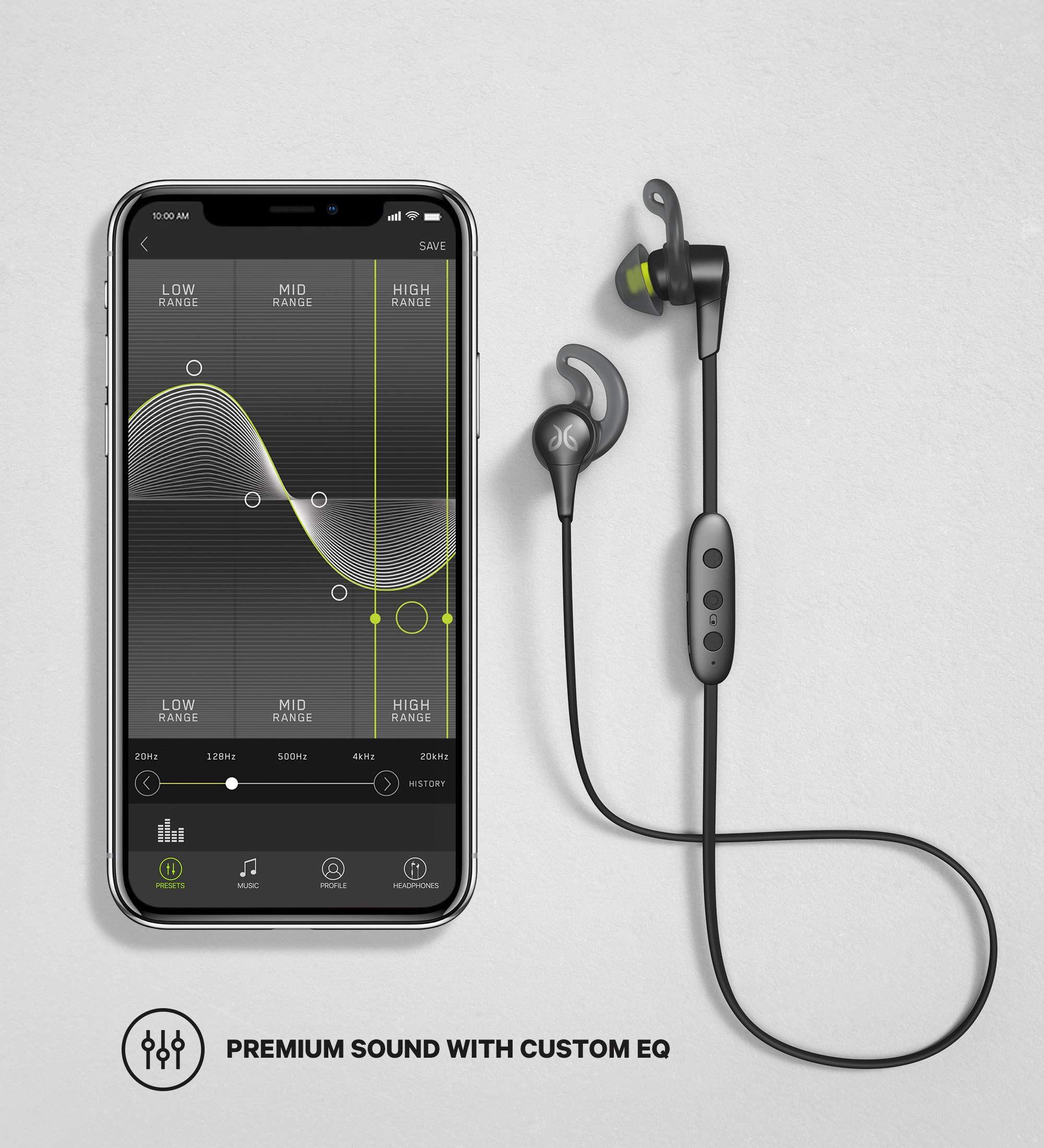 free shipping 2f3f9 f09b7 Jaybird X4 Wireless Bluetooth Headphones for Sport, Fitness and ...