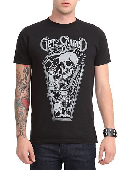 97c0e17b0 get scared shirt - Google Search | Stuff I want | Shirts, T shirt ...