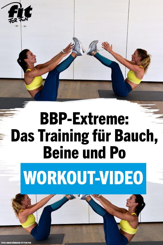 Video-Workout: Bauch, Beine, Po – BBP Extreme