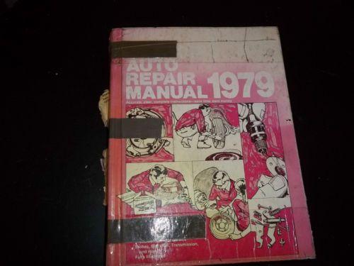 Chilton's Auto Repair Manual American Cars 1972-1979