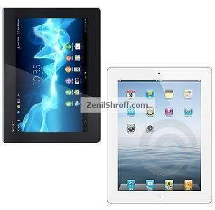 Sony Xperia Tablet S vs  Apple New iPad | Tablets | New ipad