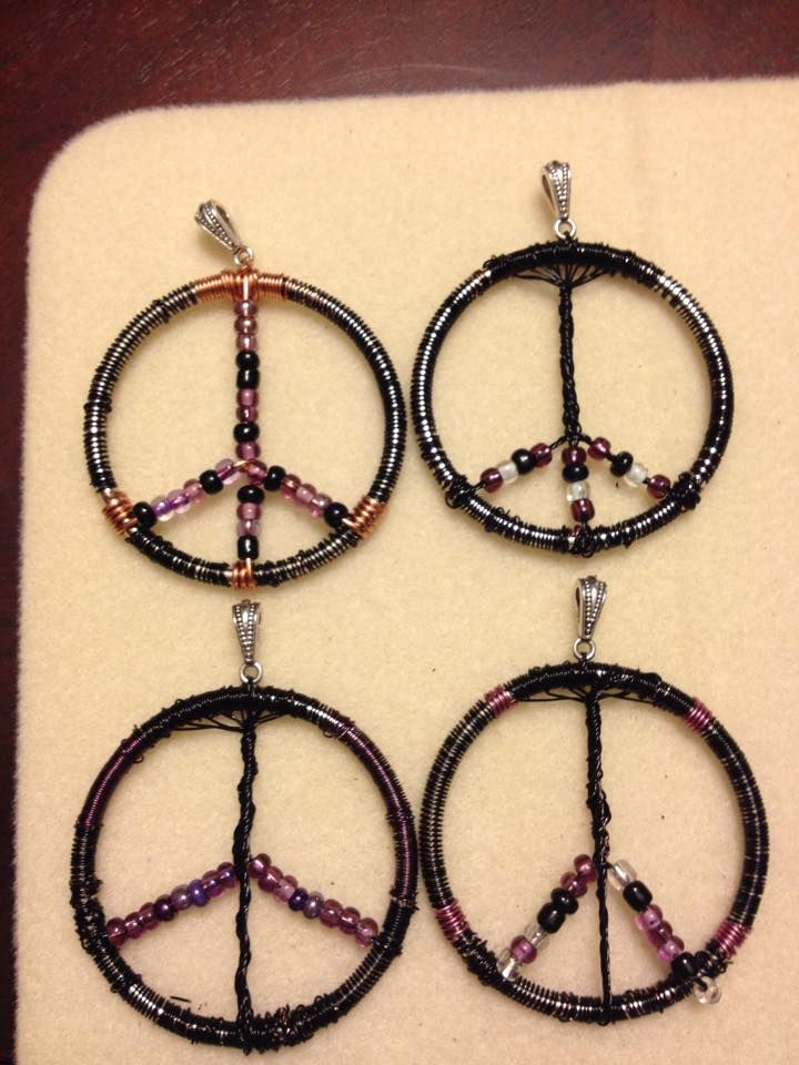 Tree of life- Peace sign by Kendra Grimmett