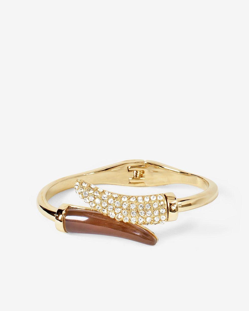 Double-Horn Cuff Bracelet
