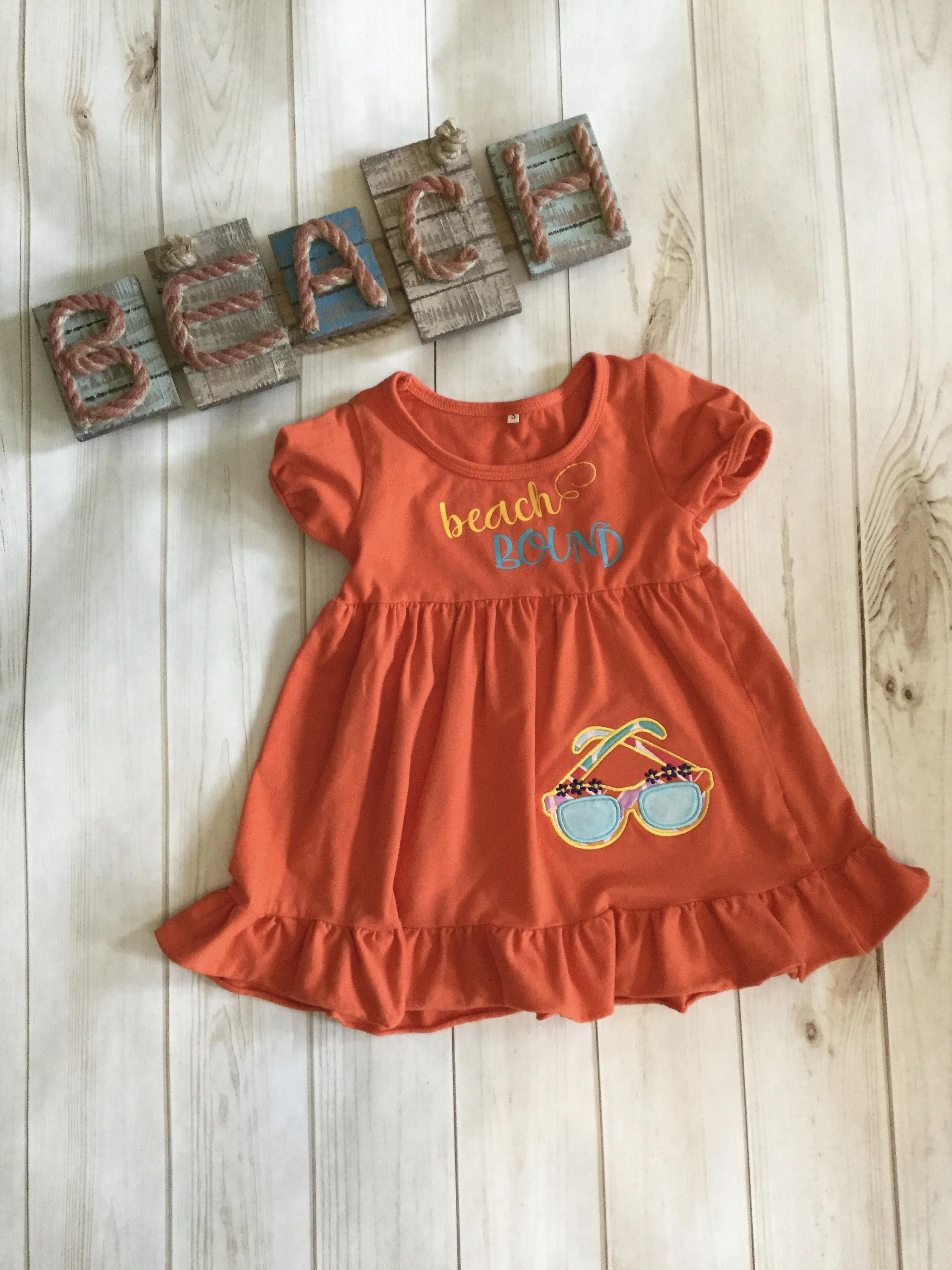 Free Shipping Clearance Sale Beach Bound Summer Dress Etsy Childrens Clothes Toddler Dress Summer Dresses [ 3000 x 2250 Pixel ]