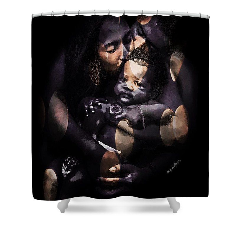 Black Beauty African American Art Shower Curtain for Sale by Amy ...