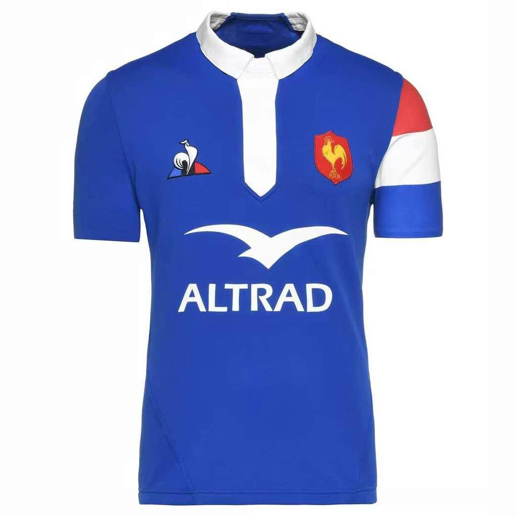 French Rugby Federation League JERSEY SHIRT Le Coq Sportif