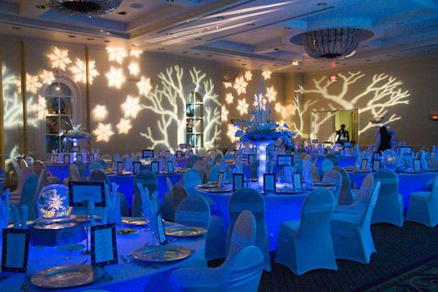 Christmas Party Event Ideas Part - 28: Winter Wonderland Party | Winter Wonderland Dinner Party « Georgia Watson  Events Inc.