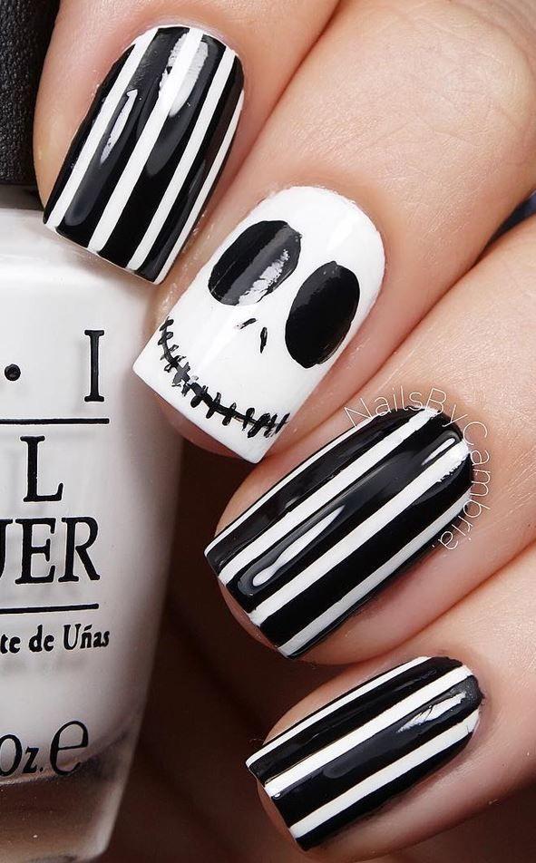 30 Halloween Nail Art Design Ideas