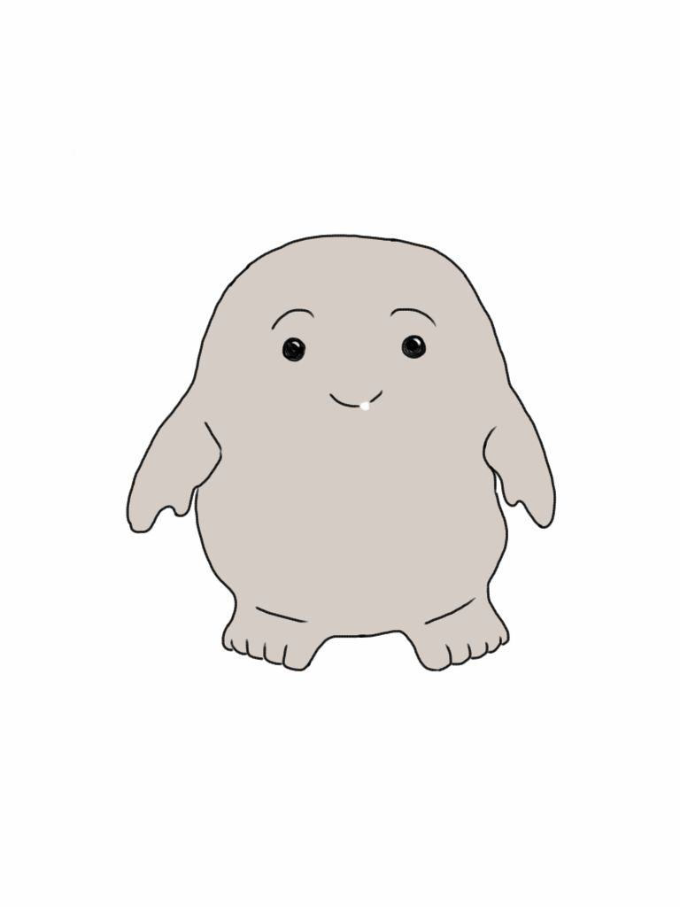 adipose are so adorable i couldnt help but draw him p
