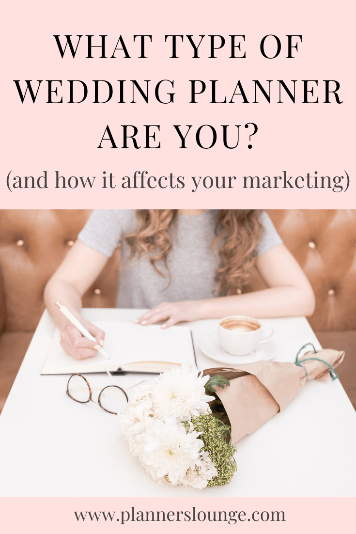 What Type Of Planner Are You In 2020 Wedding Planner Business Wedding Planner Job Wedding Planner Career