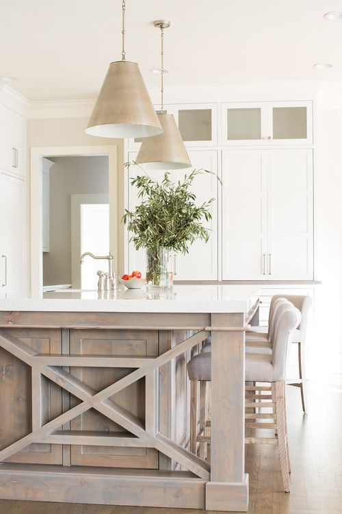 Neutral Modern Farmhouse Kitchen Ideas - Interior design kitchen, Kitchen interior, Kitchen design, Distressed kitchen, White oak kitchen, Home - Get ready for the best neutral modern farmhouse kitchen ideas you can find, all rounded up in one easy place! Just pick your favorites from this list!