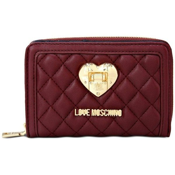 958f5386c2 Love Moschino Wallets ( 98) ❤ liked on Polyvore featuring bags ...